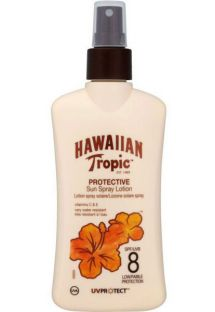 HAWAIIAN TROPIC SENSITIVE SUN LOTION - New 200ml FPS8